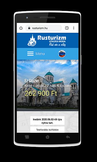 egyedi weblap készítés Debrecen belvárosában